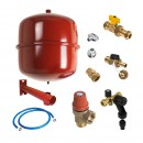 Central heating connector kit