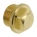 Brass and chrome plated threaded fittings