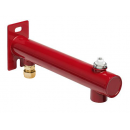 Expansion vessel bracket red