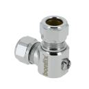 Angle mini ball valve (screwdriver)