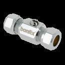 Straight mini ball valves (screwdriver)