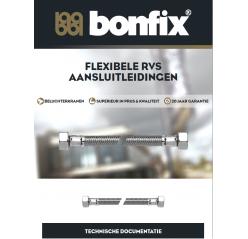 Flexibele RVS aansluitleidingen