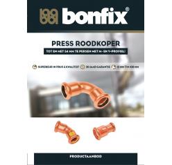 BONFIX PRESS Roodkoper