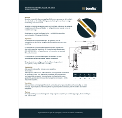 Montagehandleiding Gasaansluitleiding