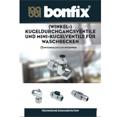 mini- und KUGELDURCHGANGS- VENTILE