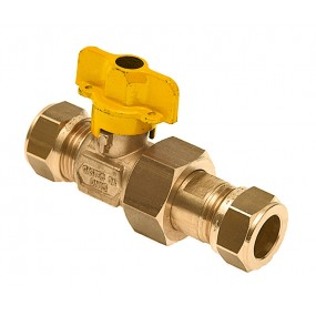 Valve for gas