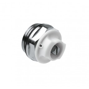 Air vent plug rotating head