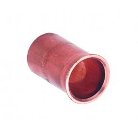 Roodkoperen steunhuls voor zacht koperen en stalen buis