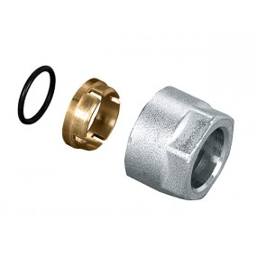 TR 91/A Soft compression fitting with ogive of EP 851 for copper pipe