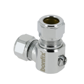 Angle mini ball valves (screwdriver)