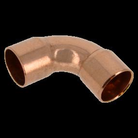 Red copper bend 90°
